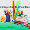 Let's prepare kids to school together!